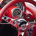 Chevrolet Corvette Steering Wheel by Jill Reger