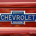 Chevrolet Emblem by Vivian Christopher