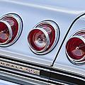 Chevrolet Impala Ss Taillight by Jill Reger