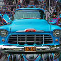 Chevrolet Pick Up Abstract by Randy Harris