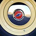Chevrolet Wheel Emblem by Jill Reger