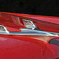 Chevy Bel Aire Hood Ornament by Lyle  Huisken