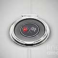 Chevy Gas Cap Silver Emblem by Thomas Woolworth