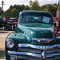 Chevy In Green by Larry Bishop