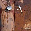 Chevy Truck Door Handle Detail by Bob Christopher