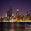 Chicago City At Night Photo by Paul Velgos