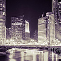 Chicago Cityscape At State Street Bridge by Paul Velgos