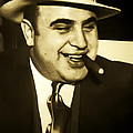 Chicago Gangster Al Capone by Bill Cannon