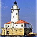 Chicago Lighthouse by Tommy Anderson