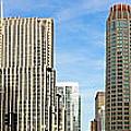 Chicago Panorama 1 by Mary Machare