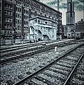 Chicago Rail Station by Donald Schwartz