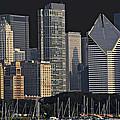 Chicago Skyline by David Resnikoff