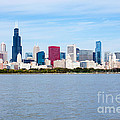 Chicago Skyline by Paul Velgos