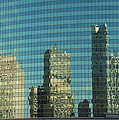Chicago Window Reflections by Richard Bryce and Family