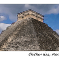 Chichen Itza Modern Seven Wonders Of The World In Mexico by Brandon Bourdages