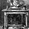 Child Eating, 1875 by Granger