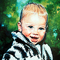 Child Portrait by Hanne Lore Koehler
