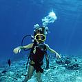 Child Scuba Diver by Alexis Rosenfeld