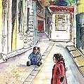 Children In Nicosia by Miki De Goodaboom