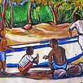Children Of Corn Island by Carlos Morales