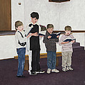 Children Sing Praise by Mary Ann King