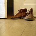 Child's Shoes By Open Door. by Jill Battaglia