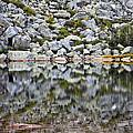 Chimney Pond Reflections by Glenn Gordon