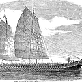China: Junk, 1857 by Granger