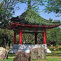 Chinese Gardens Garden Pavilion 21b by Gerry Gantt