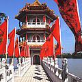Chinese Gardens  North Pagoda 19c by Gerry Gantt