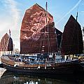 Chinese Junk by Dawn OConnor