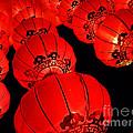 Chinese Lanterns 3 by Xueling Zou