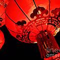Chinese Lanterns 4 by Xueling Zou