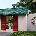 Chinese Scholar's Garden by Sally Weigand