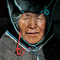 Chipaya Culture Grandmother. Department Of Oruro. Republic Of Bolivia. by Eric Bauer