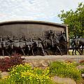 Chisholm Trail Monument by Toni Hopper