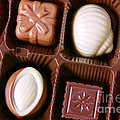 Chocolates Closeup by Carlos Caetano