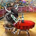 Chop Sticks For A Bull by Miki De Goodaboom