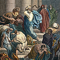 Christ At The Temple by Granger