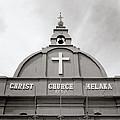 Christ Church In Melaka In Malaysia by Shaun Higson