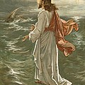 Christ Walking On The Waters by John Lawson