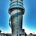 Christchurch Airport's Control Tower by Steve Taylor
