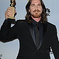 Christian Bale In The Press Room by Everett