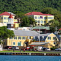 Christiansted Water Front by Lorenzo Simmons