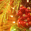 Christmas Baubles by Toni Hopper