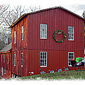 Christmas Eve At Williston Mill by Brian Wallace