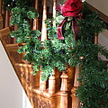 Christmas Garland by Nancy Patterson