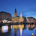 Christmas In Hamburg by Marc Huebner