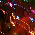 Christmas Light Abstract by Susan Stevenson