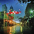 Lights At 3 Georges In Mobile Al by Michael Thomas